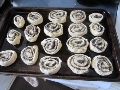 Set in baking dish