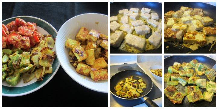 Saute Paneer and veg
