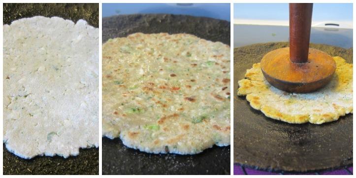 cook paratha