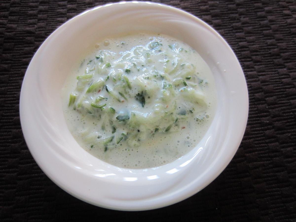Cucumber Raita / Tzatziki