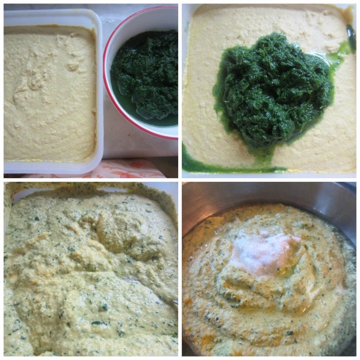 Spinach Dhokla mix