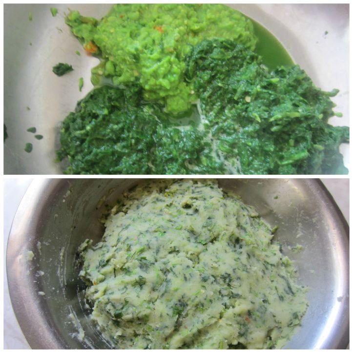 Cutlet mixture