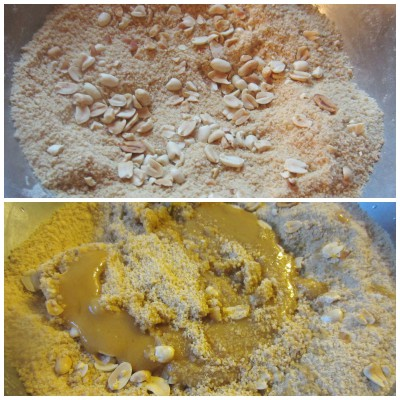 Mix jaggery syrup