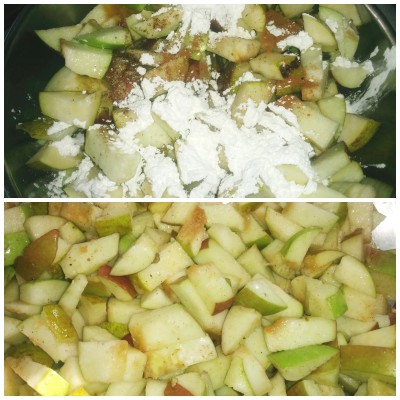 Apple mix for crumble