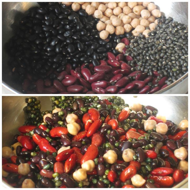 Soak beans