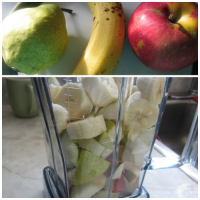 Apple Pear smoothie mix