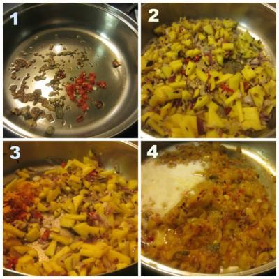 Cook Mango chutney