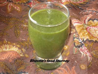 Mix Green smoothie