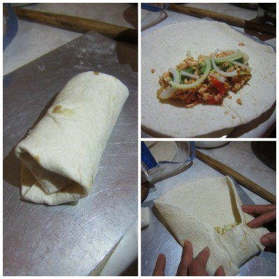Fold burrito