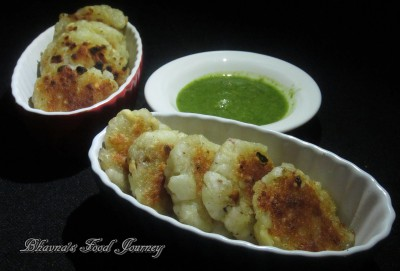 Sabudana Potato Cutlet