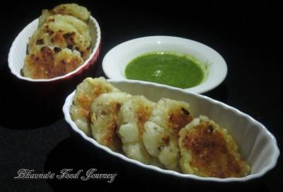 Sabudana Potato Cutlet