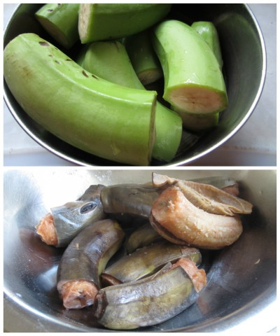 Cook banana