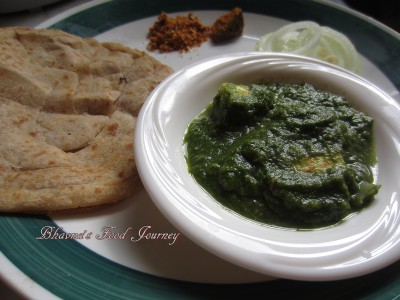 Spinach Broccoli Paneer 1