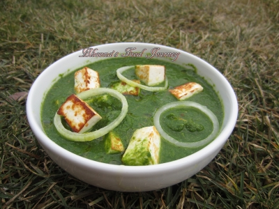 Spinach Broccoli Paneer