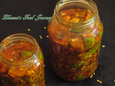 Mango pickle 1