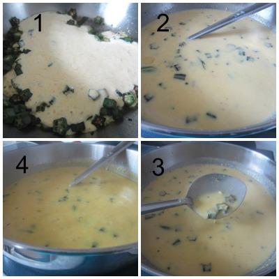 Cook kadhi