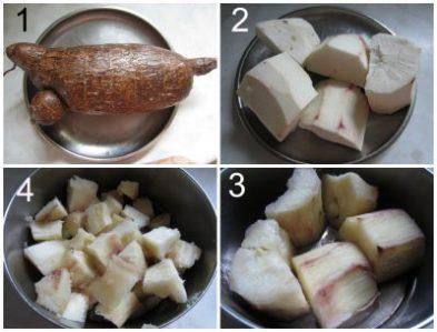Cook cassava