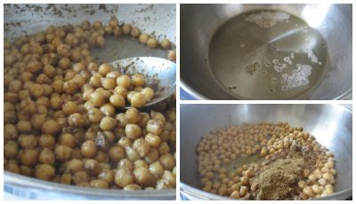 Cook chickpeas