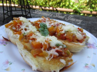 Italian Flavoured Open Sandwich1