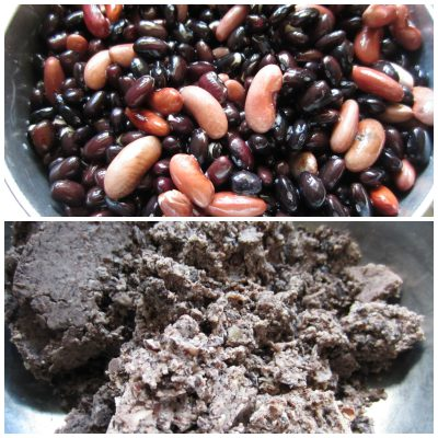 Soak and cook beans