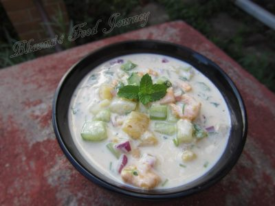 Pineapple raita1