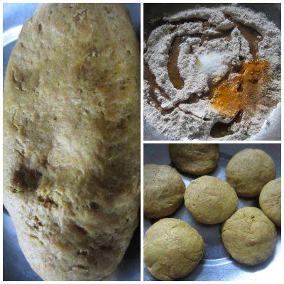 dhokli-dough